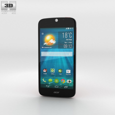 Acer Liquid Jade S Red 3D Model