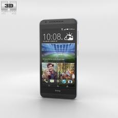 HTC Desire 620G Milkyway Gray Phone 3D Model
