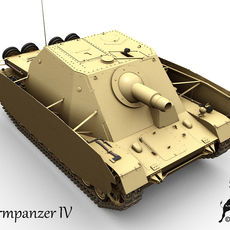 Sturmpanzer IV 3D Model