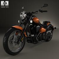 Yamaha Raider SCL 2013 3D Model