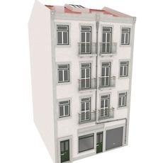 Building Lisbon 3D Model