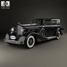 Cadillac V-16 town car 1933 3D Model