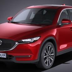Mazda CX-5 2017 3D Model