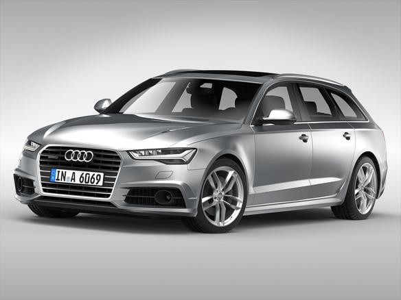 Audi A Avant D Model - Audi car 3d