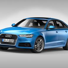 Audi A6 (2017) 3D Model