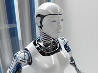 Robot woman D2016 3D Model