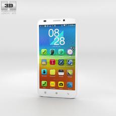 Lenovo A916 White Phone 3D Model