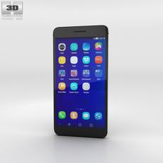Huawei Honor 6 Plus Black Phone 3D Model