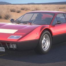 Ferrari 365 GT4 BB 1973-1984 3D Model