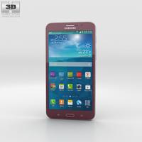 Samsung Galaxy W Red 3D Model