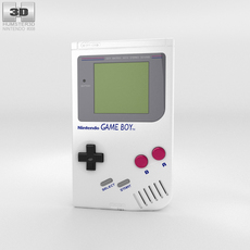 Nintendo Game Boy 3D Model