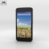 Micromax Canvas A1 Magnetic Black 3D Model