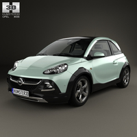 Opel Adam Rocks 2014 3D Model