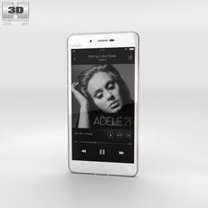 Vivo X5Max White Phone 3D Model