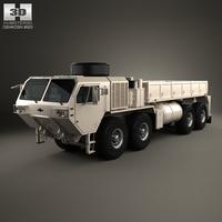 Oshkosh HEMTT M977A4 Cargo Truck 2011 3D Model