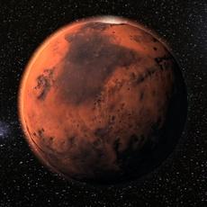 Mars planet 3D Model