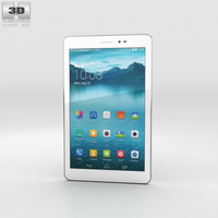 Huawei Honor Tablet White 3D Model