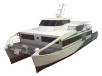 Great yacht 3D Model