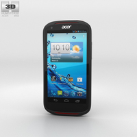 Acer Liquid E1 Black Phone 3D Model