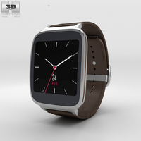 Asus ZenWatch Dark Brown 3D Model