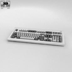 IBM Model M Keyboard 3D Model