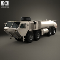 Oshkosh HEMTT M978A4 Fuel Servicing 2011 3D Model
