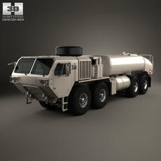 Oshkosh HEMTT M978A4 Fuel Servicing 2011 3D Model