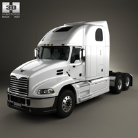Mack Pinnacle Tractor Truck 2011 3D Model