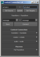 Context Connector 1.1.0 for Maya (maya script)