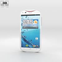 Acer Liquid E2 White Phone 3D Model
