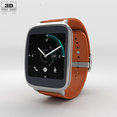 Asus ZenWatch Orange 3D Model