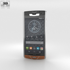 Vertu Signature Touch Phone for Bentley 3D Model