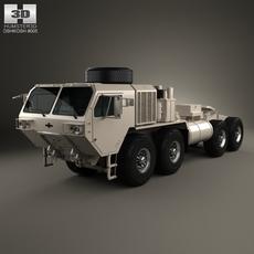 Oshkosh HEMTT M983A4 Patriot Tractor Truck 2011 3D Model