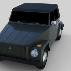 VW Type 181 3D Model