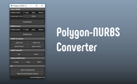 Polygon NURBS Converter 1.1.2 for Maya (maya script)