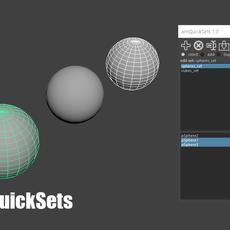amQuickSets for Maya 1.0.1 (maya script)