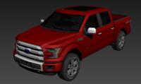 2016-2017 F150 3D Model