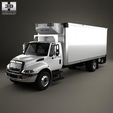 International Durastar Box Truck 2002 3D Model