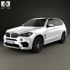 BMW X5 M (F15) 2014 3D Model