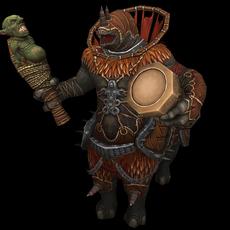 Rhino Drummer 3D Model