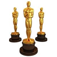 Oscar 3D print model 3D Model
