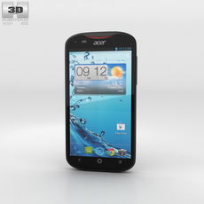 Acer Liquid E2 Black Phone 3D Model