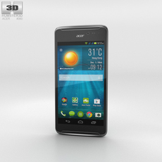 Acer Liquid E600 Green Phone 3D Model
