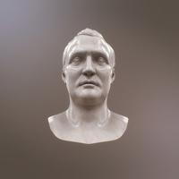 Napoleon Bonapart Bust 3D Model