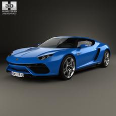 Lamborghini Asterion LPI 910-4 2014 3D Model