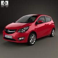 Opel Karl 2015 3D Model