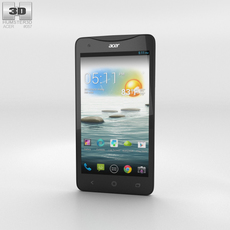 Acer Liquid S1 White Phone 3D Model