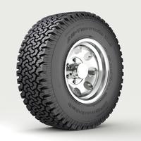 OFF ROAD WHEEL & TIRE 3D Model