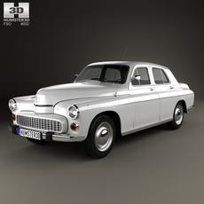 FSO Warszawa 223 1964 3D Model