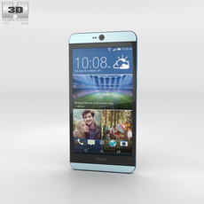 HTC Desire 826 Blue Lagoon 3D Model